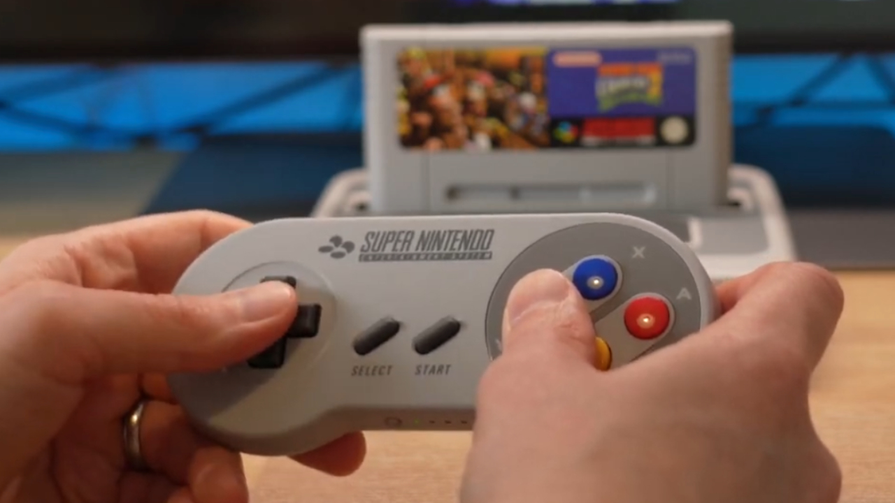 SNES Online Bluetooth Pad with Analogue Super NT